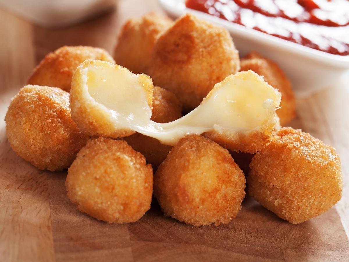 Guličky syra v trojobale