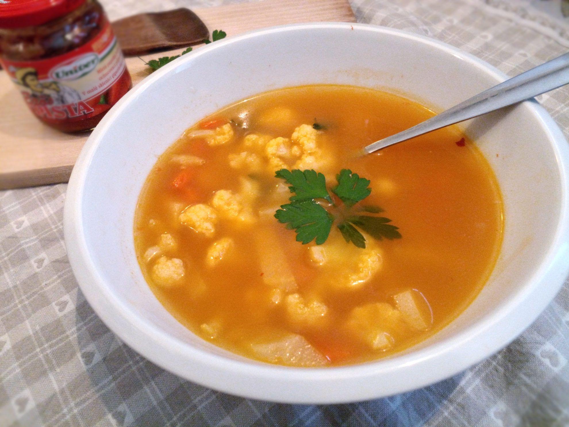 Zeleninová domáca fajná výborná perfektná polievka podľa mňa